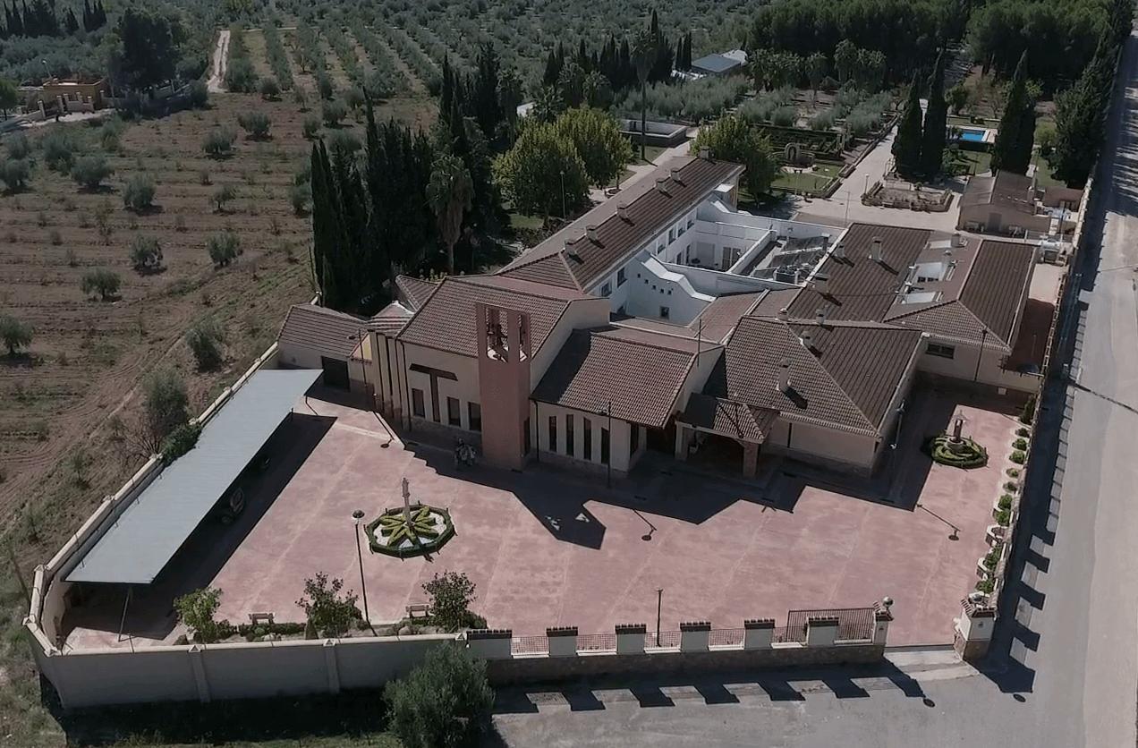 Vista aerea del convento